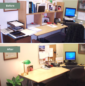 Business Office Before & After