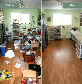 Room Before & After